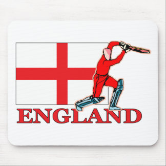 English Cricket Player Mouse Pad