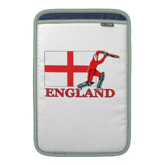 English Cricket Player Sleeve For MacBook Air