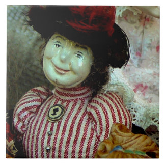 """""""English Doll From The Past"""" Tile"""