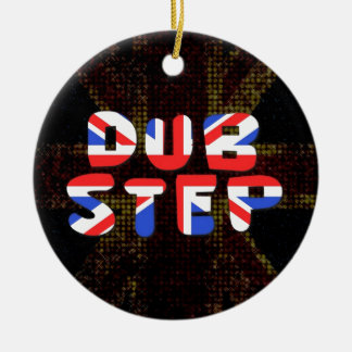 English Dub Step Ceramic Ornament