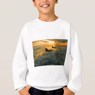 English Electric Lightning sunset flight Sweatshirt