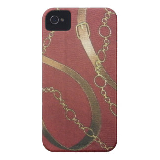 English Equestrian - Red iPhone 4 Case