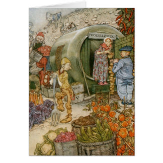 English Fairy Tale (Blank Inside) Card