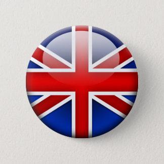 English Flag 2.0 2 Inch Round Button