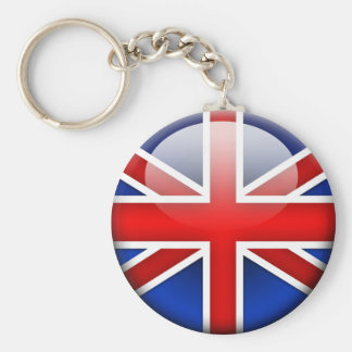 English Flag 2.0 Keychain