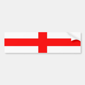 English flag bumper sticker