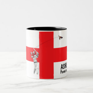 English flag-English cricket Barmy Army Two-Tone Coffee Mug