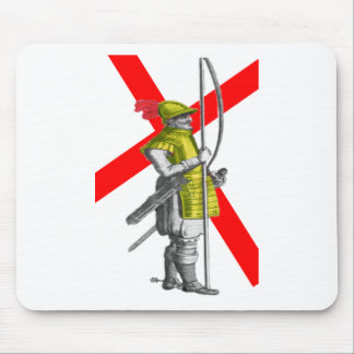 English Foot Soldier Mouse Pad