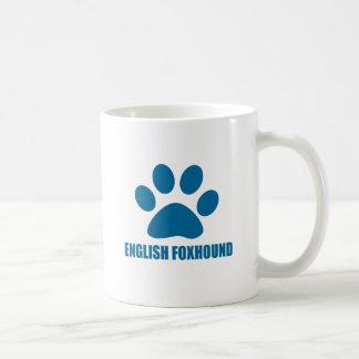 ENGLISH FOXHOUND DOG DESIGNS COFFEE MUG