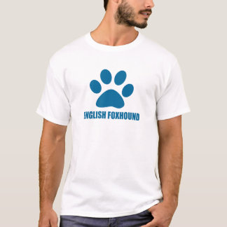 ENGLISH FOXHOUND DOG DESIGNS T-Shirt