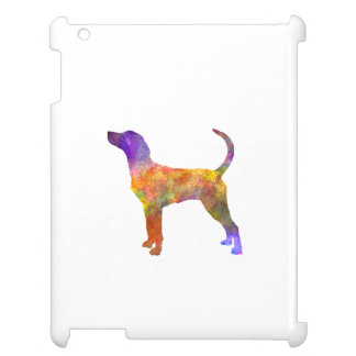 English Foxhound in watercolor Case For The iPad