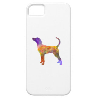 English Foxhound in watercolor Case For The iPhone 5