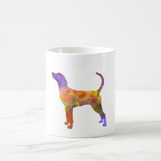 English Foxhound in watercolor Coffee Mug