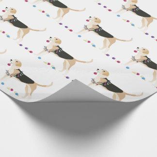 English Foxhound Silhouette Christmas Design