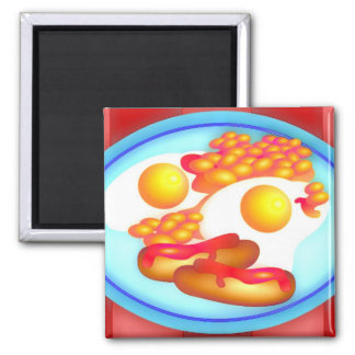 English Fry-up Magnet