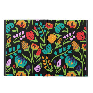 English Garden Black iPad Air Case