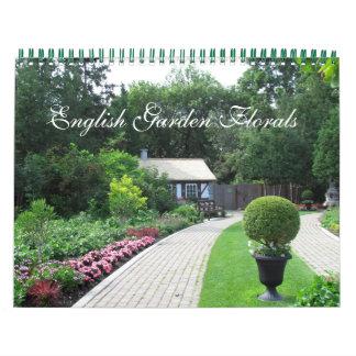 English Garden Florals Calendar