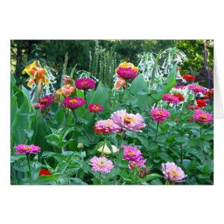 English Garden Florals Card