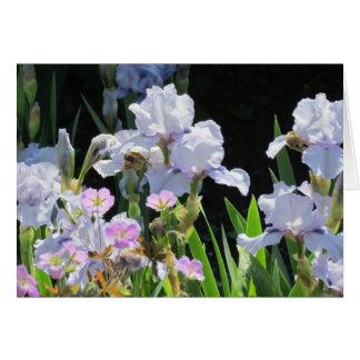 English Garden Florals Greeting Card
