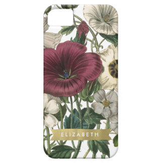 English Garden Gold Ribbon Custom Iphone case iPhone 5 Case