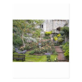 English Garden Postcard