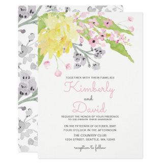 english garden wedding invitations