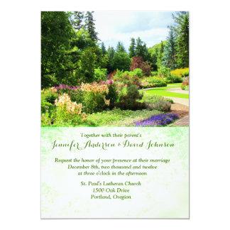 English Gardens Custom Wedding Invitation