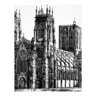 English Gothic church Letterhead