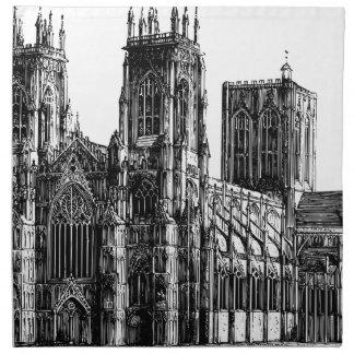 English Gothic church Napkin