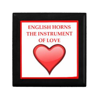 english horn gift box