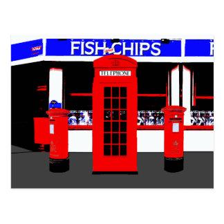 English Icons Postcard