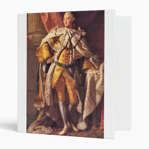 English King George III by Studio of Allan Ramsay Binder