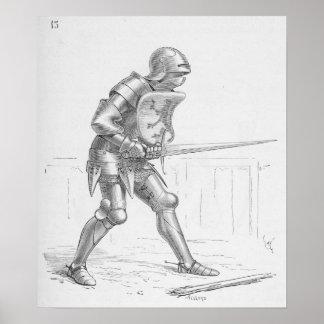 English Knight Poster