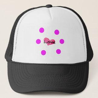 English Language of Love Design Trucker Hat