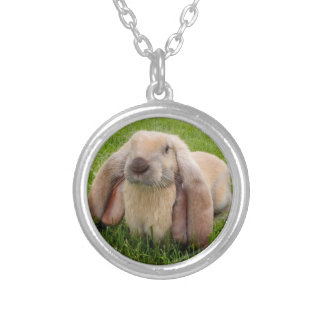 English Lop Rabbit Necklace