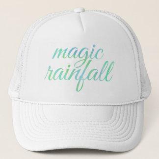 English MAGIC RAINFALL in Watercolor Trucker Hat