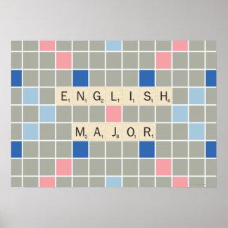 English Major Poster