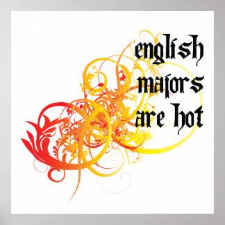 English Majors Are Hot Poster