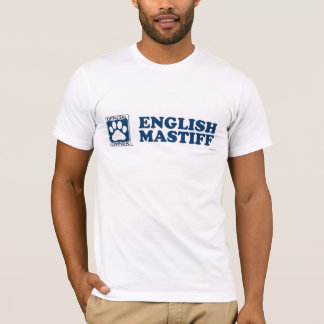 English Mastiff Blue T-Shirt
