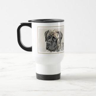 English Mastiff (Brindle) Travel Mug