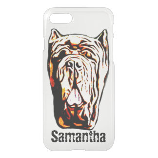 English Mastiff dog iPhone 8/7 Plus case
