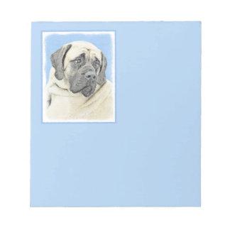 English Mastiff (Fawn) Notepad