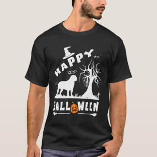 ENGLISH MASTIFF Happy Halloween Dog Lovers Gift T-Shirt