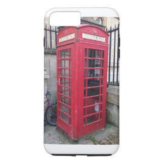 English Phone Booth iPhone 7 Plus Case