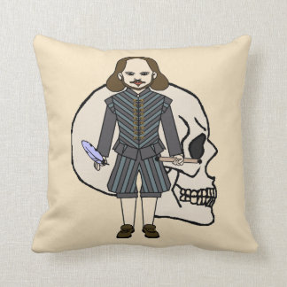 English poet and playwright 1500 Th Throw Pillow