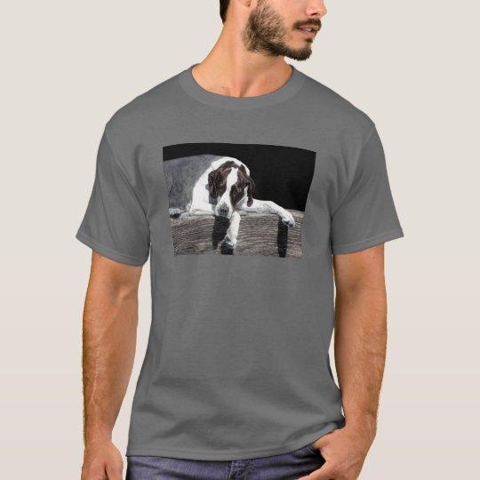 """English Pointer - Dark T-shirt - """"Sophie"""""""
