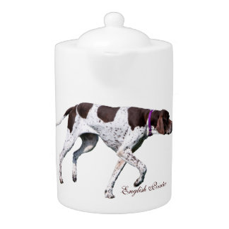 English Pointer dog beautiful photo, gift