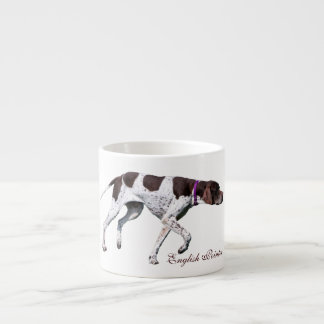 English Pointer dog beautiful photo, gift Espresso Cup