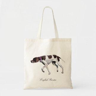 English Pointer dog beautiful photo, gift Tote Bag