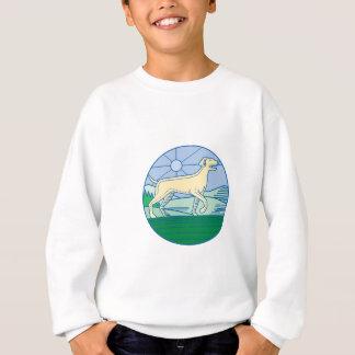 English Pointer Dog Mono Line Sweatshirt